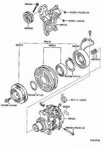 Toyota Corolla A  C Compressor Clutch  Clutch  Magnet
