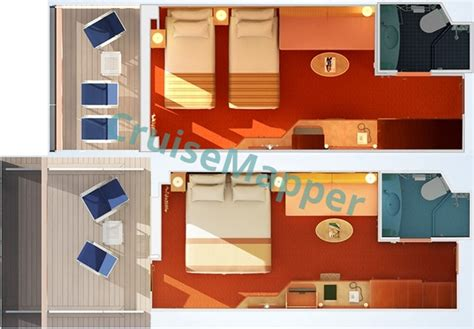 Carnival Legend Deck Plans Cabins by Carnival Legend Cabins And Suites Cruisemapper