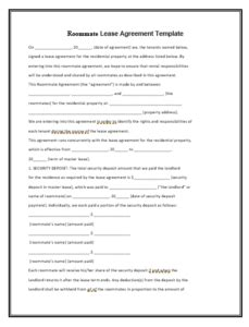 lease agreement template  images lease agreement