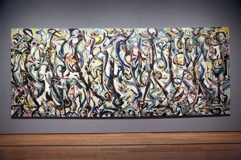 jackson pollock the mural is jackson pollock s name in mural latimes