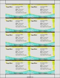 Printable business card template template update234com for Business cards printable