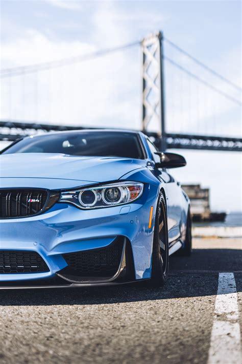 car bmw shadow bridge blue german