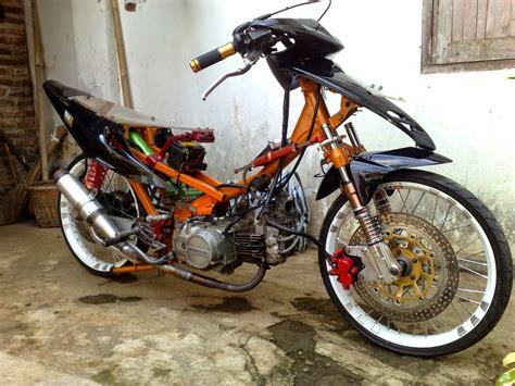 Foto Modifikasi Sepeda Motor Supra X 125 by Koleksi Foto Modifikasi Motor Supra X Lama Terlengkap