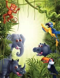 Vector Jungle Animals