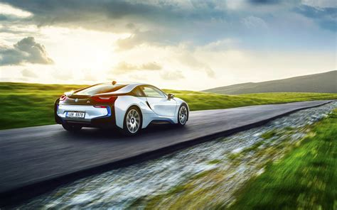 Car Wallpaper For by Bmw I8 Back View Wallpaper Hd Car Wallpapers Id 6006