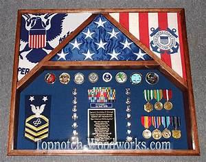 3 flag shadow box - by Topnotch Woodworks @ LumberJocks