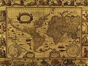 Irina McAuley's art: Old map (collection 2).