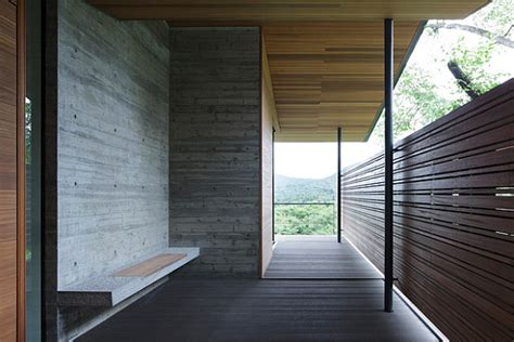 cantilevered contemporary japanese home  kidosaki architects