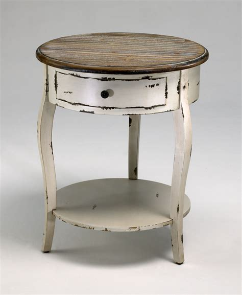 Country Style Side Table  Alexander Kat Furniture