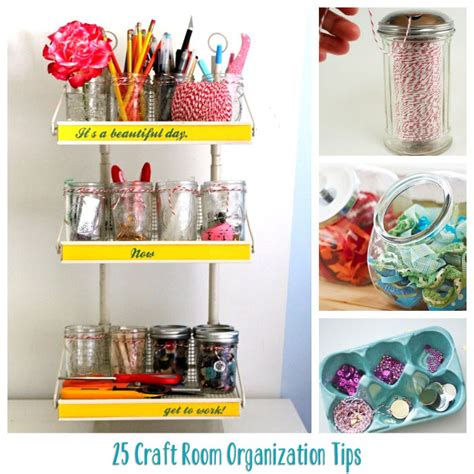 diy small bedroom organization let s get organized craft rooms toys closets and clever 15189 | 25 Craft Room Organization Tips