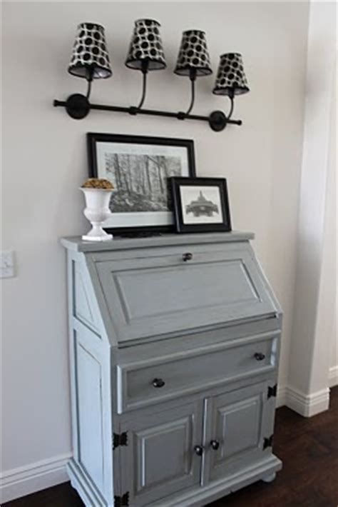 benjamin moore puritan gray secretary desk interiors