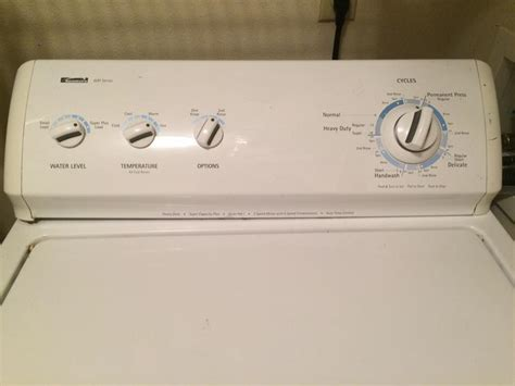 Kenmore 600 Series washer cracked liner
