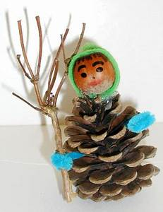 Bricolage A Faire Avec Des Petit : lutin en pomme de pin noel tete a modeler ~ Melissatoandfro.com Idées de Décoration