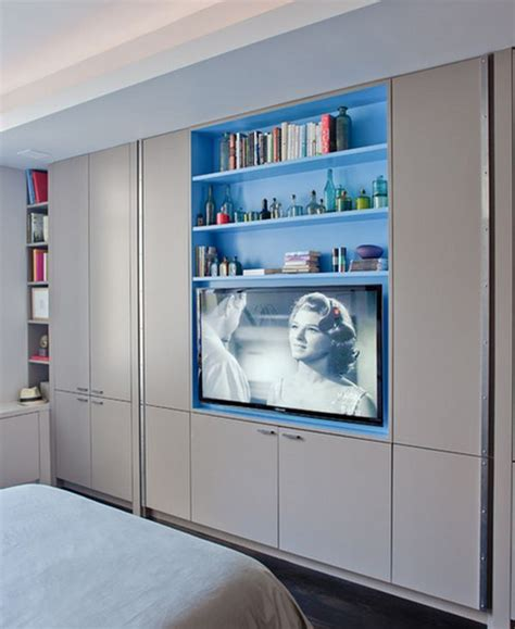 tv holder for wall clever wardrobe design ideas for out of the box bedrooms