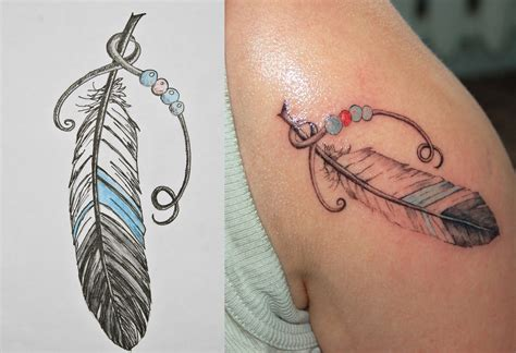 Feather Tattoos Designs, Ideas And Meaning