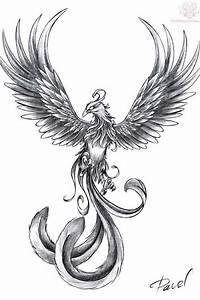 25 beste phoenix tattoo designs tattoosideencom With amazing couleur pour un salon 13 dessins black crow tattoo