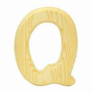 wood letter quotqquot walmartca With wooden craft letters walmart
