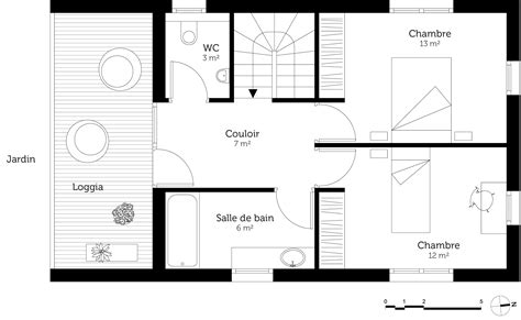 plan maison etage 4 chambres plan de maison 4 chambres avec etage evtod