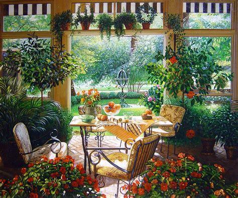 Decorating A Garden Room  Homey Garden