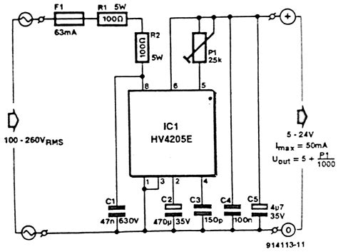 Circuit Diagram Low Voltage Power Inverter