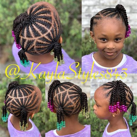 Children's Braids and Beads DM me for booking information
