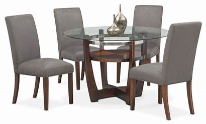 Chairs Table Alcove Gray Side Dining Furniture