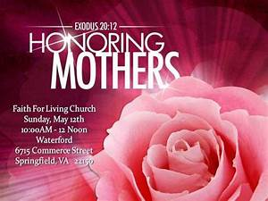 Mother's Day at Church - Bing images
