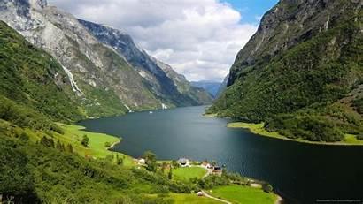 Nature Wallpapers Norwegian Norway Fjord Canyon Desktop