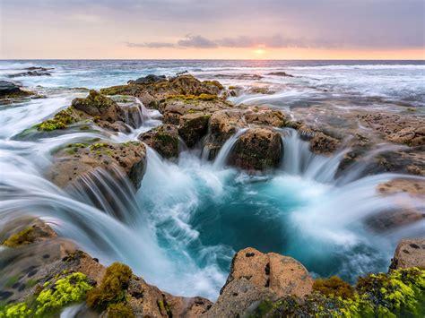 wawaloli beach beach  hawaii sea waves stones beautiful