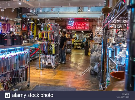 Office Supplies Nyc by New York City Ny Usa Shopping In Quot Bowery Kitchen