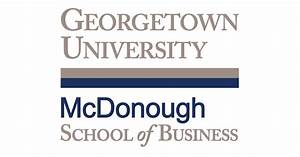 Georgetown University Online Master of Finance Program
