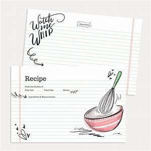 Lily & Val – Watch Me Whip Recipe Card Pack