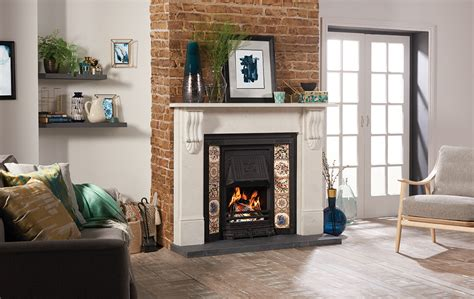 traditional wood burning fireplaces multi fuel