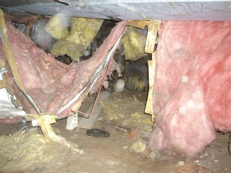 what is the downside to installing faced fiberglass insulation in a dirt floor crawlspace vs non