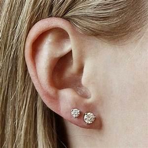 De 25+ bedste idéer inden for Double pierced earrings på ...