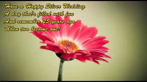 silver jubilee wedding anniversary wishes  parents  daughter  english happy