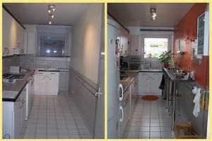 beau salle de bain en longueur plan 12 la cuisine le With petite cuisine en longueur