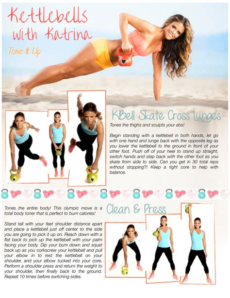 kettlebell workout abs workouts exercises kettlebells tone buns fitness kettle bell printable training core exercise routines toning bells arms circuit