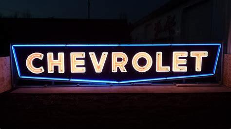 Chevrolet Neon Sign Sspn 60x312