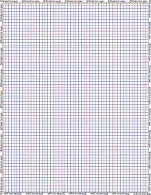 Cross Stitch Graph Paper Printable