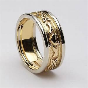 claddagh diamond wedding ring fashion belief With claddagh wedding rings for men