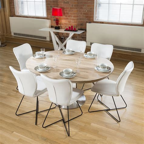 round extending dining table sets modern dining set round oval extending table 6 high white