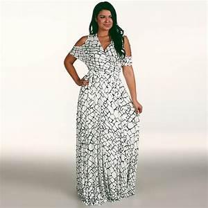 Plus Size Sexy Women Summer Boho Bohemian Long Maxi Dress ...