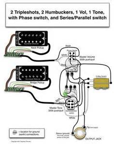 Gibson Humbucker 1 Tone Wiring Diagram Vol by Seymour Duncan P Rails Wiring Diagram 2 P Rails 2 Vol