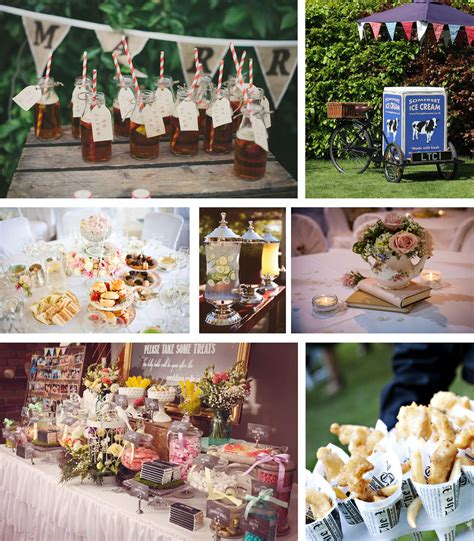 shabby chic wedding reception food ideas shabby chic vintage wedding ideas the barn at cott farm somerset