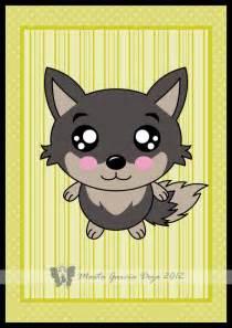 Cute Chibi Kawaii Wolf
