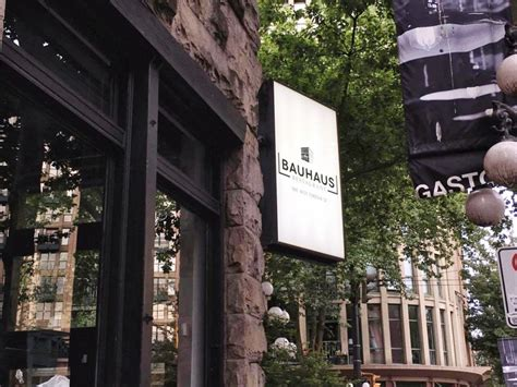 cuisine bauhaus bauhaus restaurant vancouver german cuisine gastown