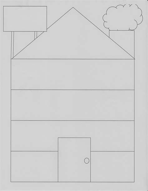 dbt printable house templates printableecom