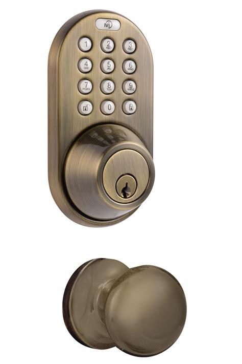 keypad door knob milocks dfk 02 keyless entry deadbolt and door knob lock