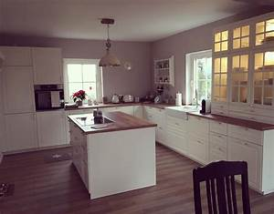 Küchen Ideen Landhaus : ich bin ja noch ein k chenbild schuldig lilaludwigs so schaut 39 s nun fertig aus ikea k che ~ Heinz-duthel.com Haus und Dekorationen